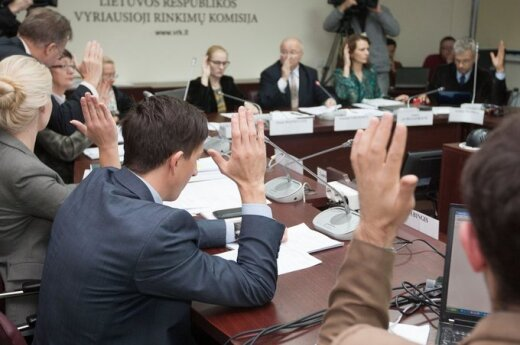 VRK anulowała wyniki wyborów w okręgu wyborczym Jeziorasy - Wisaginia