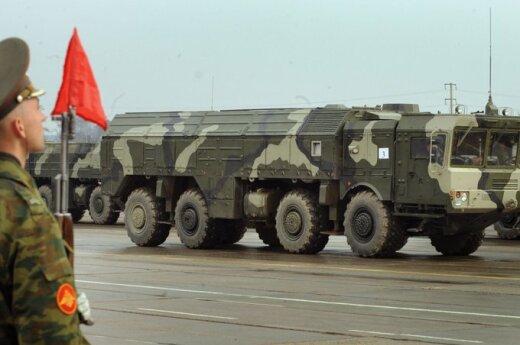 "Rusija nerimsta: išbandys ""Iskander"" raketas"