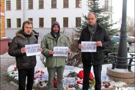 Поддержавших Charlie Hebdo в Минске будут судить