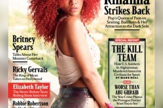 """Rihanna """"Rolling Stone"""" balandžio mėnesio viršelyje"""