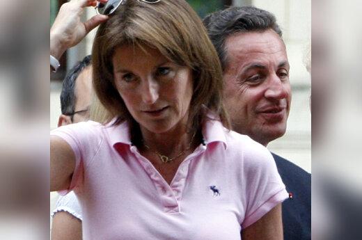 Cecilia Sarkozy ir Nicolas Sarkozy