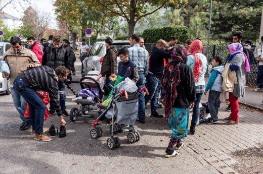 Премьер: насильно беженцев в Литву не повезут