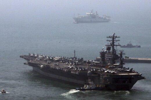 "JAV atominis laivas ""USS Nimitz"""