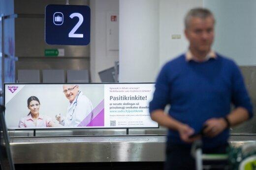 """""""Sodros"""" ėjimas: žinia emigrantams tik išlipus iš lėktuvo"""