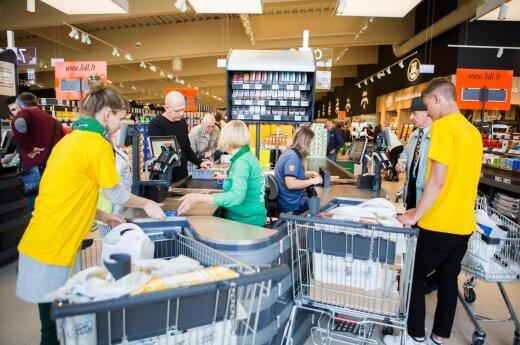 """Emigrantas palygino """"Lidl"""" produktų kainas Airijoje ir Lietuvoje"""