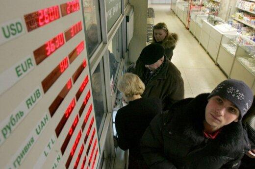 Беларусь — на третьем месте среди стран бывшего СССР по росту курса доллара