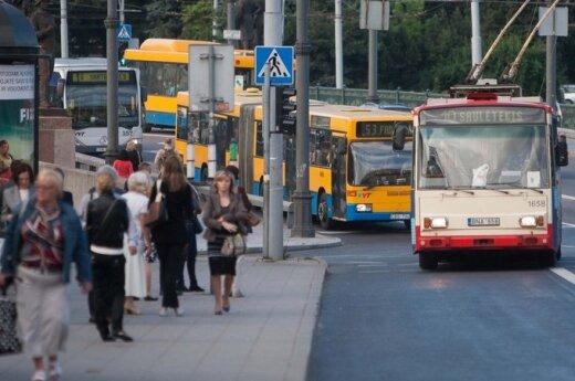 Viešasis Vilniaus transportas: skundai tęsiasi