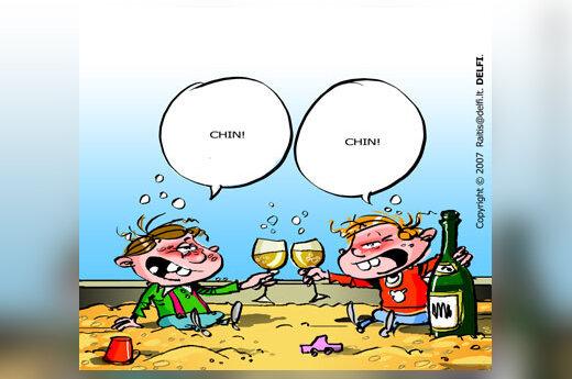 Alkoholis, gėrimas, vaikai