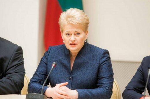 """Консерваторы решили спасти Грибаускайте от """"орудия России"""""""