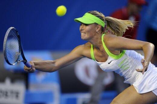 """""""Australian Open"""" finalas: Viktorija Azarenka - Marija Šarapova"""
