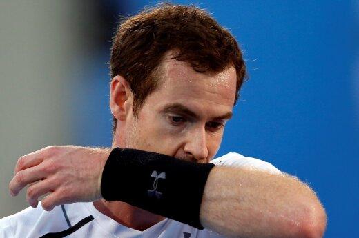 ВИДЕО: Во время матчей с Федерером Маррей стал болбоем