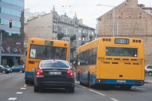 A. Zuoko rankose - sprendimas, pakeisiantis Vilniaus transporto veidą