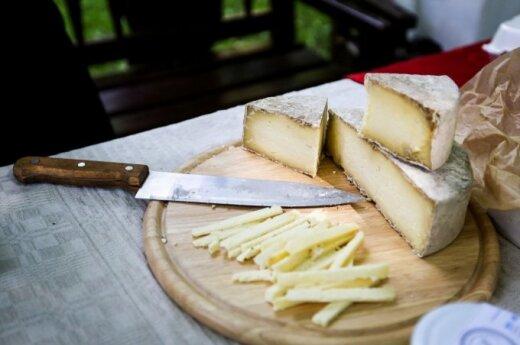 Brandintas karvės Birutės sūris