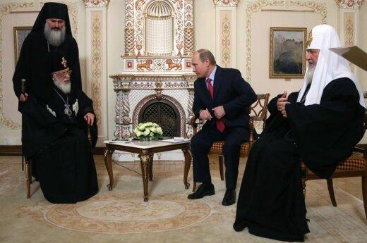Путин встретился с грузинским патриархом Илией II