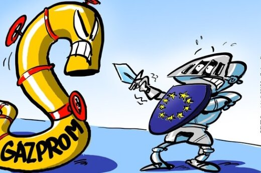 Gazprom, Europos Komisija