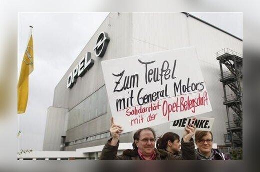 Opel darbuotojų streikas