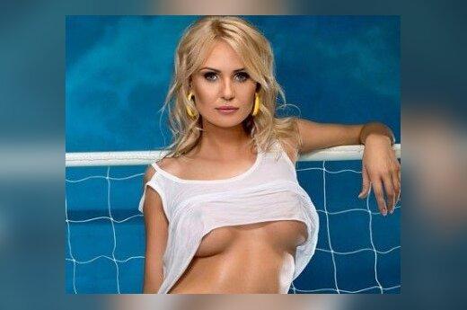Żony ukraińskich piłkarzy rozebraly się w imię zwycięstwa mężów