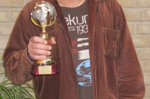 Олег Курдюков с призом