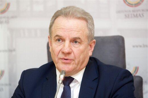 Minister of Environment Kęstutis Trečiokas