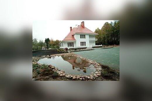 Algirdo Brazausko rezidencija Turniškėse