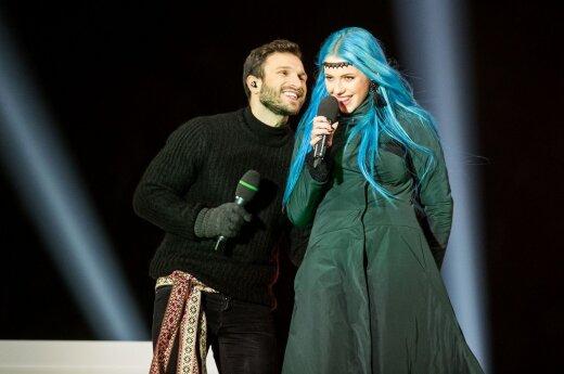 Vaidas Baumila ir Monika Pundziūtė