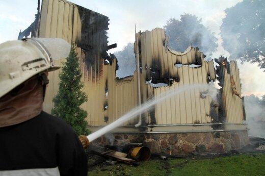 Spalił się kościół w Balbieryszkach