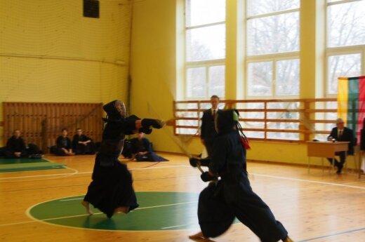 """Šiuolaikiniai samurajų """"palikuonys"""" kovėsi dėl geriausiojo vardo"""