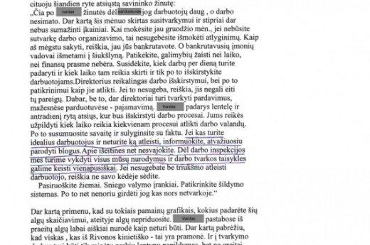 Darbo santykiai lietuviškai