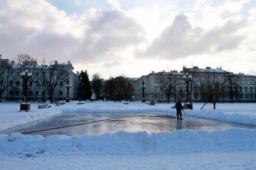 New skating rink opened in Vilnius