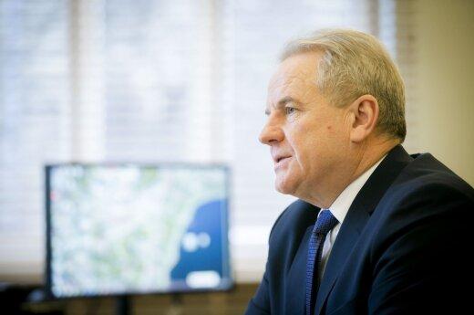 Environment Minister Kęstutis Trečiokas