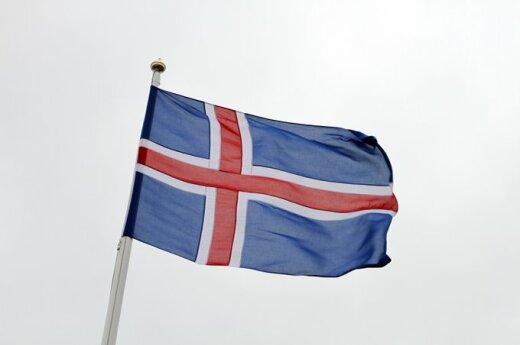 Islandijos vėliava