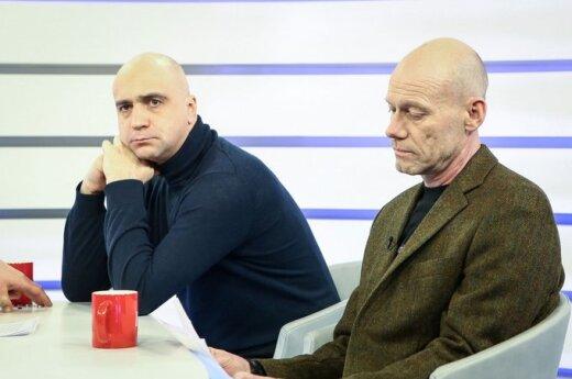 Algis Ramanauskas ir Artūras Račas