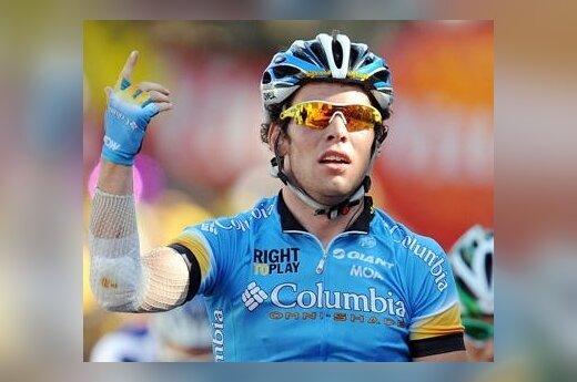 Кавендиш опять выиграл этап Tour de France