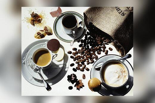 Kava, sausainiai