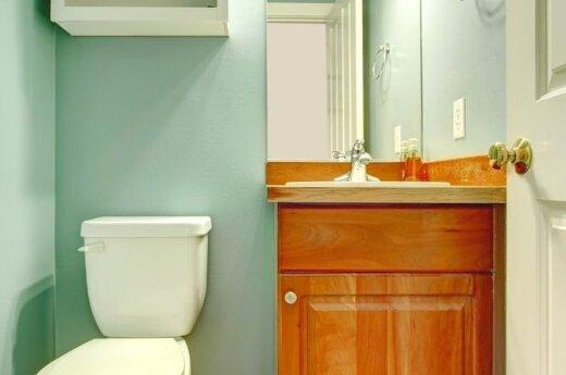 Dažome vonios kambarį: patarimai iš patirties