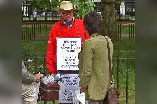 Oratorių kampas Londono Hyde parke