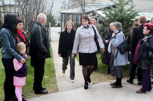 Bitaitis: nie przygotowano się do wykonania wyroku w sprawie córki Kedysa