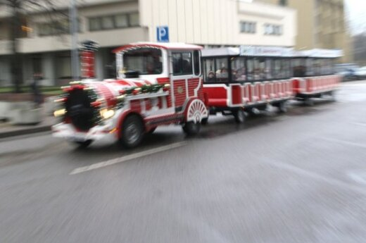 Полюбившийся вильнюсцам рождественский поезд спасен