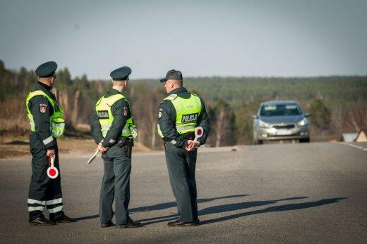 Policija pranešė, kam skirs padidintą dėmesį balandžio mėnesį