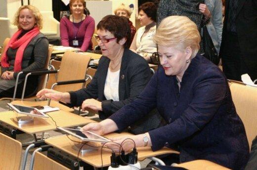 Virginija Būdienė, Dalia Grybauskaitė