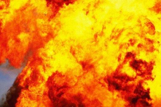 Под Ашхабадом взорвался военный склад: десятки жертв