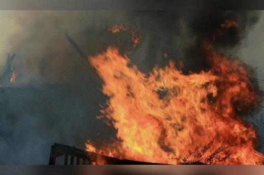 Огонь уничтожил лабанорский костел