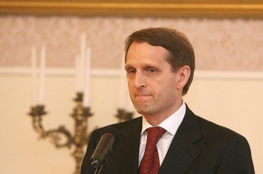 """Для приезда Медведева в Литву не хватает """"позитивной атмосферы"""""""