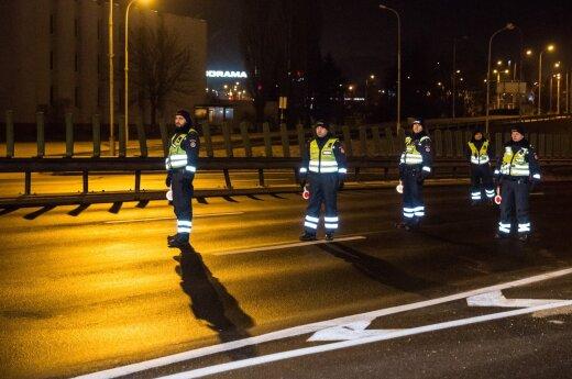 Naktinis reidas Vilniuje