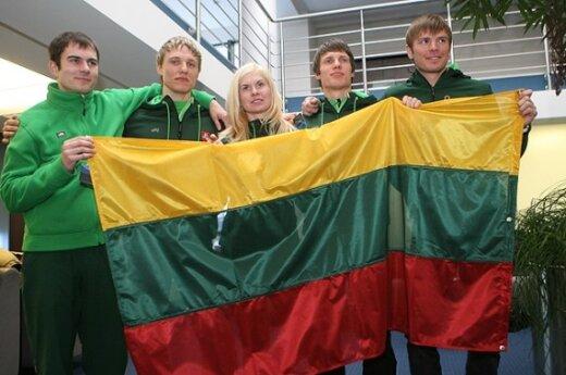 Lietuvos sportininkų delegacija