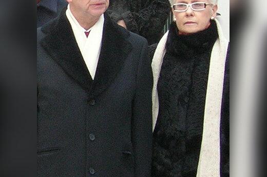 A.Vinkus su žmona