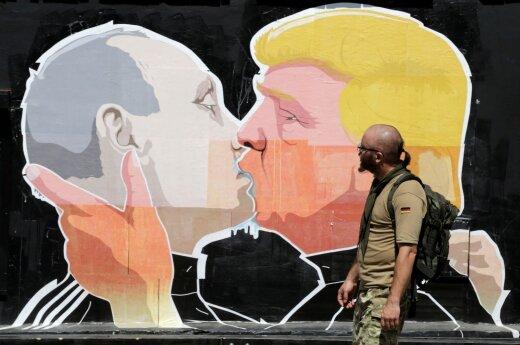 """Пресса США: """"броман"""" Путина и Трампа будет недолгим"""