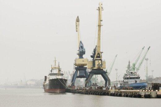 Российские автоперевозчики меняют порты Польши на Клайпеду