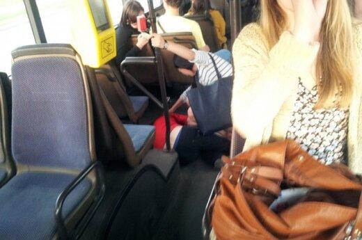 Поездка на автобусе в компании окровавленного человека