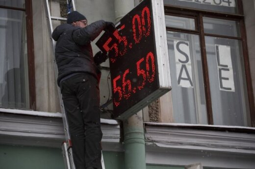 Lithuanian finance minister on effects of Russian slowdown: The worst is behind us
